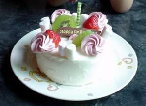 ディズニー誕生日 サプライズ バースデーケーキ レストラン
