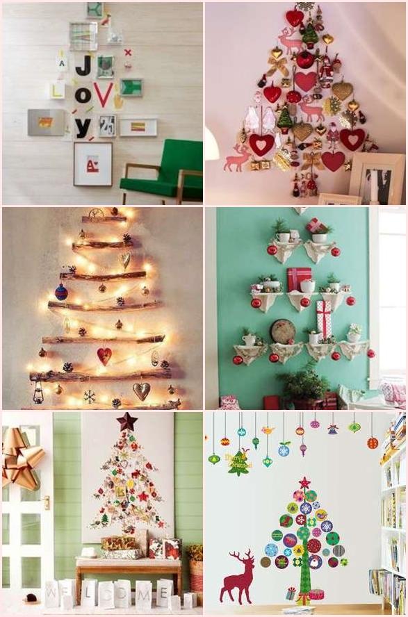 クリスマスツリー 自宅 手作り 壁面飾り 壁飾り おすすめ 北欧風 おしゃれ
