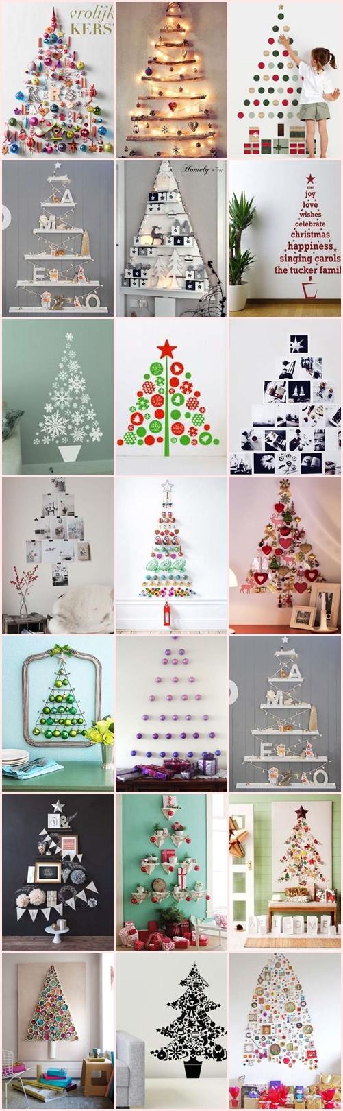クリスマスツリー 自宅 手作り 壁面飾り 壁飾り おすすめ