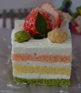ひな祭り 人気 ケーキ レシピ 作り方 菱餅 手作り ひし形 おすすめ 3色ケーキ