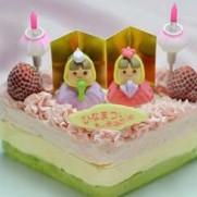 ひな祭り 人気 ケーキ レシピ 作り方 菱餅 手作り ひし形 おすすめ