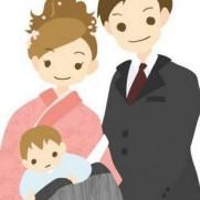お宮参り 時期 いつ 着物 着せ方 父親 母親 服装 食事 予算1