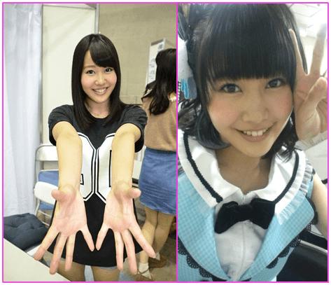 とにかく明るい安村に似ているという声もあるNBM48の門脇佳奈子
