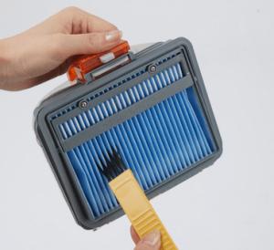 サイクロン掃除機のフィルターの掃除方法