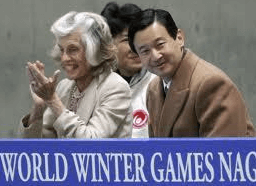 スペシャルオリンピックスを設立したケネディ元大統領の妹ユニス・ケネディ・シュライバーさん