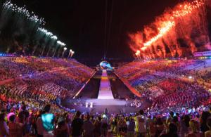 スペシャルオリンピックス開会式