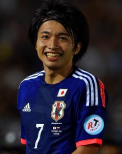 背番号7を付けてサッカー日本代表デビューした柴崎岳