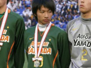 青森山田高校時代に全国大会で準優勝だった柴崎岳