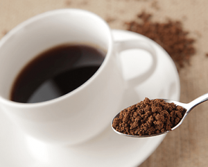 カフェインが入ったコーヒー