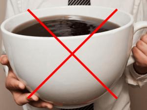 カフェインとり過ぎコーヒーNG