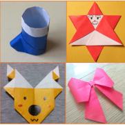 クリスマスオーナメント手作り折り紙の折り方