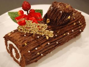 クリスマスケーキで有名なブッシュドノエル