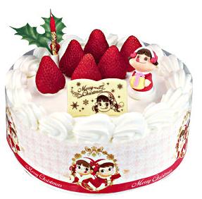 クリスマスケーキの起源・由来となった不二家の苺のショートケーキ