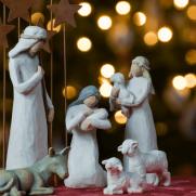 クリスマス折り紙の簡単な折り方!リースや立体サンタを手作り!