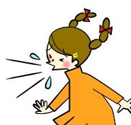 咳・くしゃみなどの飛沫感染