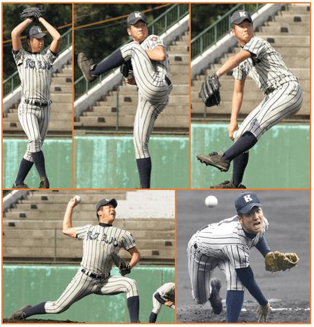 敦賀気比高校投手・平沼翔太の投球フォーム