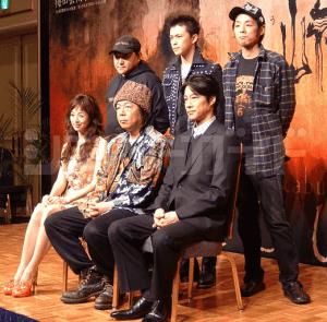 いのうえ歌舞伎・壊<Punk>「蜉蝣峠」で共演した勝地涼さんと高岡早紀さん