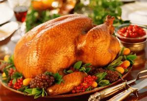 クリスマスメニュー海外定番の七面鳥