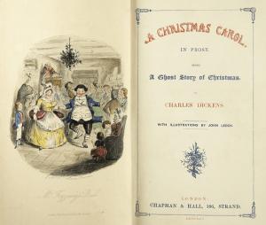 チャールズ・ディケンズ著のクリスマスキャロルA CHRISTMAS CAROL