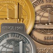 モンドセレクションの受賞メダル