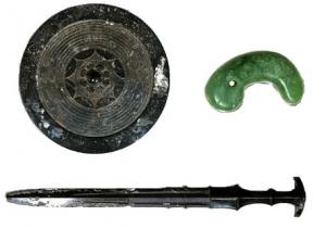 剣と鏡と勾玉の三種の神器