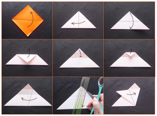 ハート 折り紙:つるし雛作り方折り紙-hagifood.com
